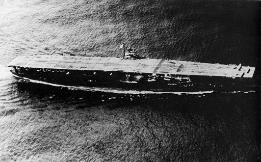 Japanese aircraft carrier Akagi 01