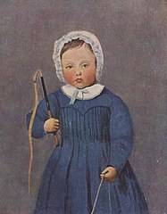 Louis Robert, enfant