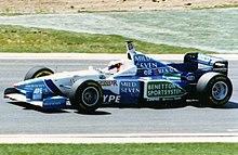 eximir Albardilla Molester  Benetton Formula - Wikipedia