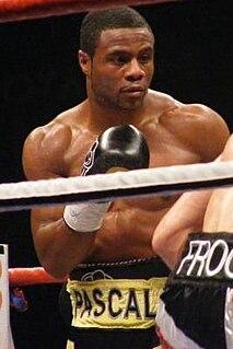Jean Pascal Haitian-Canadian boxer