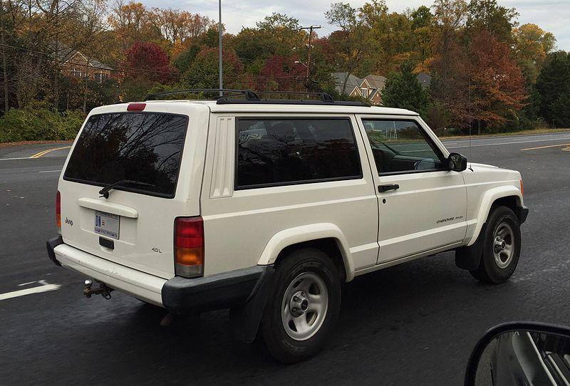 File Jeep Cherokee Xj 1997 2001 Sport 2 Door In White