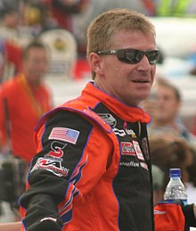 Jeff Burton in August 2007