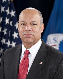 Portrait officiel de Jeh Johnson en 2014.