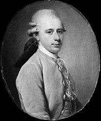 Generalpostdirektør Frederik Hauch som ung