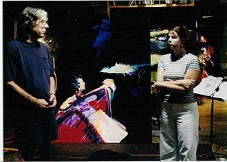 Jere Allen - Jere Allen in his Oxford, Mississippi, studio, 2001.