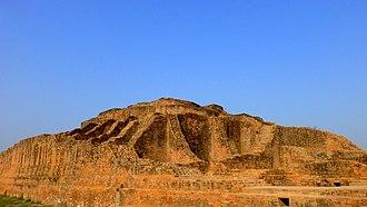 Aṅgulimāla - Angulimala's Stupa, part of the Jetavana monastery at Shravasti in Uttar Pradesh, India