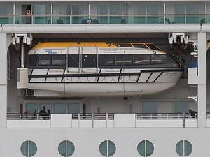 Jewel of the Seas Lifeboat Tallinn 15 August 2012.JPG