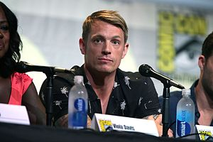 Joel Kinnaman - Kinnaman at the 2016 San Diego Comic-Con to promote Suicide Squad
