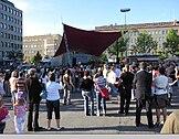 Joensuu market place
