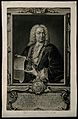 Johann Bernoulli. Mezzotint by J. J. Haid after J. Huber. Wellcome V0000488.jpg