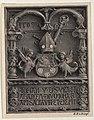 Johannesberg - Stiftungstafel vom Fürstbischof Johann V Thurzo, 1509, IOHAN.V.EPS.VRA.HAC.ARCEM.DIVO.IOHA.BAPT.SACRAVIT.ET.EREXIT.jpg
