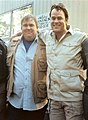 John Candy and Dan Aykroyd during production of The Great Outdoors.jpg