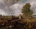 John Constable - A Boat at the Sluice (sketch) - WGA05202.jpg