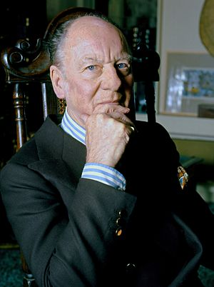 Richard Burton - Gielgud (Photographed by Allan Warren in 1973) gave Burton his career breakthrough with The Lady's Not For Burning (1949)