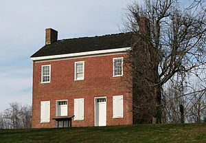 National Register of Historic Places listings in Hickman County, Tennessee - Image: John Gordon House
