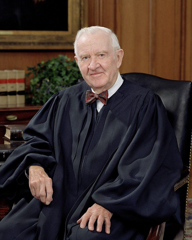 John Paul Stevens, SCOTUS photo portrait