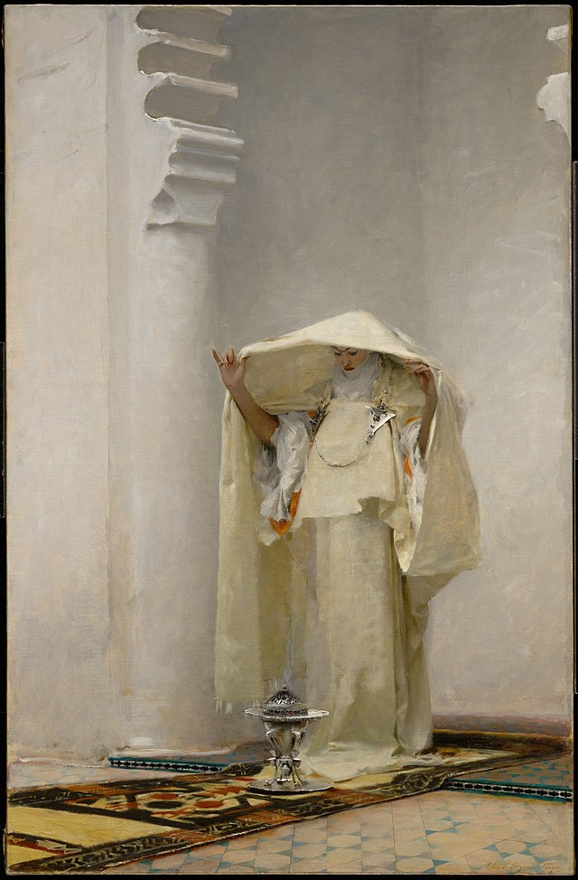 From commons.wikimedia.org: John Singer Sargent Fume'e d'Ambre Gris {MID-226031}