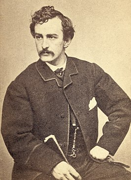 John Wilkes Booth in 1865.