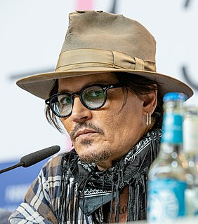 Johnny Depp American actor, producer, and musician