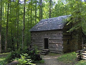 The Sugarlands - John Ownby Cabin, built in 1860
