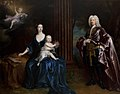 Jonathan Richardson the elder (1667-1745) - Sir Nathaniel Curzon (1676–1758), 4th Bt Curzon, with His Wife, Mary Assheton (1695–1776), Lady Curz - 108829 - National Trust.jpg