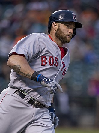 Jonny Gomes - Gomes playing for the Boston Red Sox in 2014