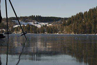 Jonsvatnet - Image: Jonsvatnet winter panoramio