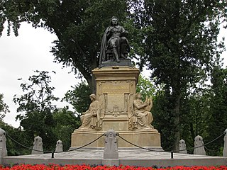 Vondel statue
