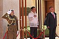 Jordan's King Abdullah II and Philippine President Rodrigo Duterte 02.jpg