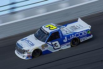 Jordan Anderson (racing driver) - Anderson in his Jordan Anderson Racing machine at Daytona in 2018.