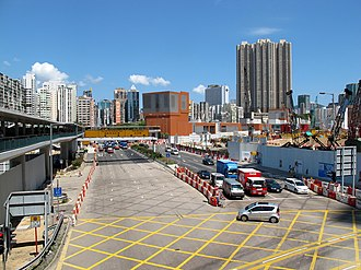 Jordan Road, Hong Kong - Jordan Road in West Kowloon.