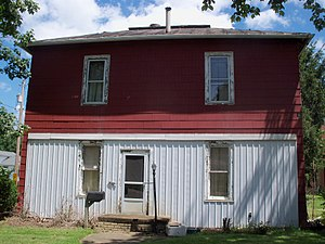 Joseph Medill - Medill taught at this school in Navarre, Ohio in the 1840s