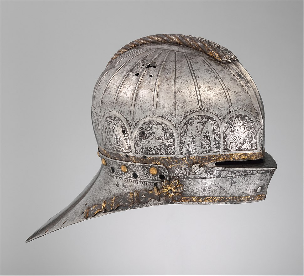 Jousting Sallet Made for Louis II (1506–1526), King of Hungary and Bohemia MET DP272458