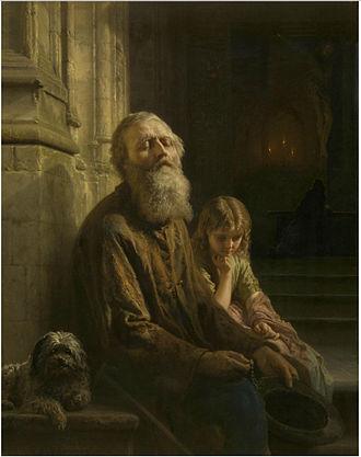 Josephus Laurentius Dyckmans - The blind beggar.