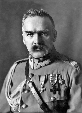 Second Polish Republic - Józef Piłsudski, Chief of State (Naczelnik Państwa) between November 1918 and December 1922