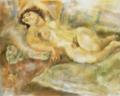JulesPascin-1929-Lying Woman or Manolita.png