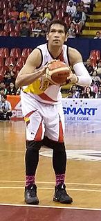 June Mar Fajardo Filipino basketball player