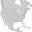 Juniperus virginiana var silicicola range map 1.png