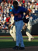 Justin Shafer after his flyout ended the game - and Florida's season (7398047036) (cropped).jpg