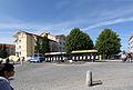Kühlungsborn, Strandstraße, Blick über den Kreisverkehr mit Bäder Express (2).JPG