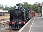 K163 Arriving at Moorooduc.jpg