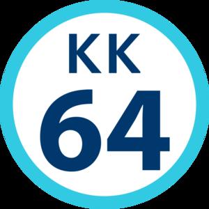Uraga Station - Image: KK 64 station number