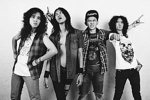 Popular music - KRAS, also known as Heavy Metal Punk Machine, is an Indonesian heavy metal band