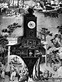 Kaarsenkroon, uurwerk en stoelen - 's-Gravenhage - 20086788 - RCE.jpg