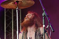 Kadavar (German Psychedelic Rock Band) (Krach Am Bach 2013) IMGP8907 smial wp.jpg