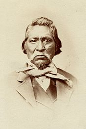 "Kanosh was a Ute chief and Mormon convert. He met with Brigham Young on September 1, 1857 along with other Native leaders. Young believed that ""Gentile"" emigrants consistently disturbed the Native Americans through acts of unprovoked violence. This made the Indians prone to thievery and violence towards other whites in retaliation."