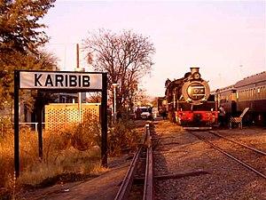 Karibib Railway Station - Karibib Railway Station, 2006