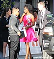 Karimah Westbrook Wearing Beautiful Colourful Dress - TIFF17 (36960990666).jpg