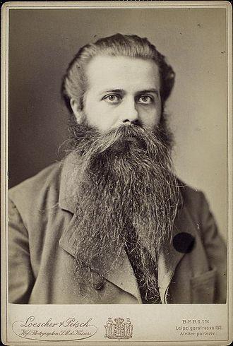 Karl Robert Eduard von Hartmann - von Hartmann in 1885