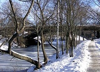 canal in Stockholm, Sweden